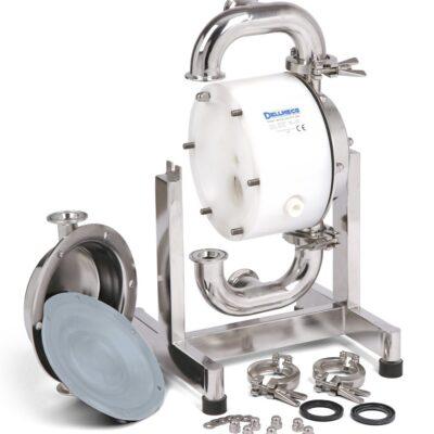 Устройство на хигиенна мембранна помпа Dellmeco