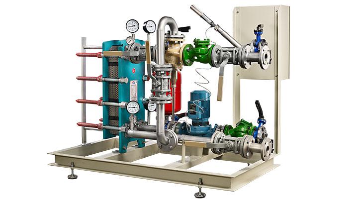 Радиаторни отоплителни системи MIT с източници на топла вода